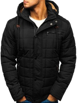 Men's Winter Jacket Black Bolf 1672