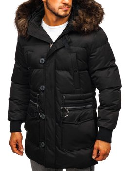 Men's Winter Jacket Black Bolf 99116