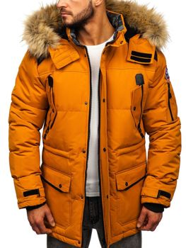 Men's Winter Jacket Camel Bolf 5948