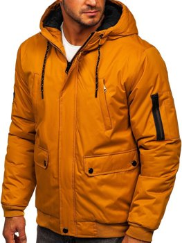 Men's Winter Jacket Camel Bolf HY821
