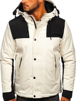 Men's Winter Jacket White Bolf J1905