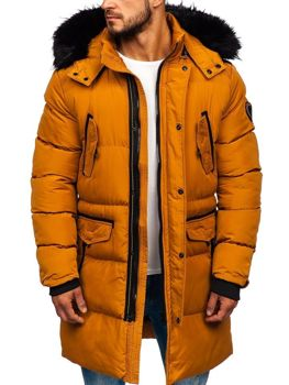 Men's Winter Parka Jacket Camel Bolf 5837