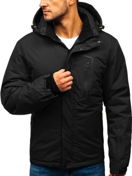 Men's Winter Ski Jacket Black Bolf HZ8107