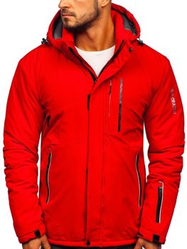 Men's Winter Ski Jacket Red Bolf 1910