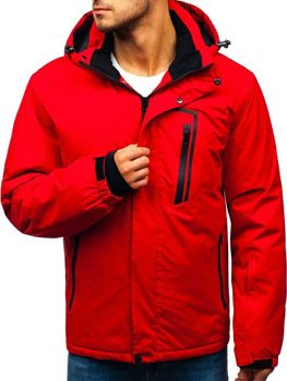 Men's Winter Ski Jacket Red Bolf HZ8107