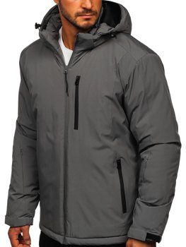 Men's Winter Sport Ski Jacket Graphite Bolf HH011