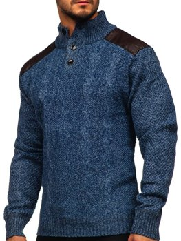 Men's Zip Jumper Blue Bolf GF776