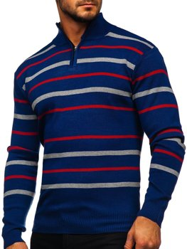 Men's Zip Jumper Blue Bolf W05