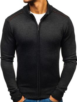 Men's Zip Jumper Graphite Bolf BM6077