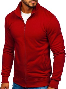 Men's Zip Sweatshirt Claret Bolf B002