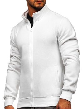 Men's Zip Sweatshirt White Bolf B2002