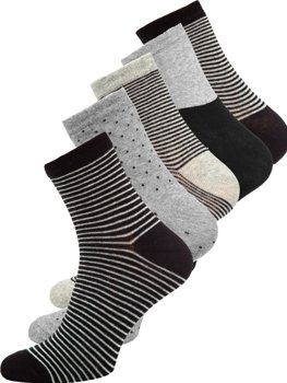 Multicolour Men's Socks Bolf X10166-5P 5 PACK