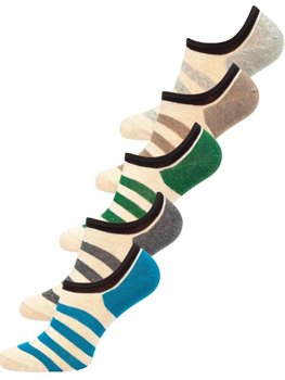 Multicolour Men's Socks Bolf X10169-5P 5 PACK
