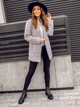 Women's Coat Ecru Bolf 6011-1