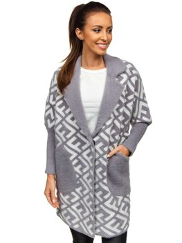 Women's Coat Grey Bolf 20682