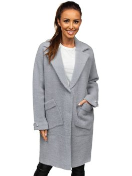 Women's Coat Grey Bolf 20737