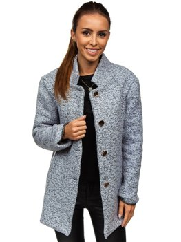 Women's Coat Grey Bolf 6011-1