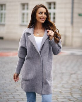 Women's Coat Grey Bolf 7108