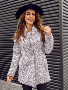 Women's Coat White Bolf 6011-1