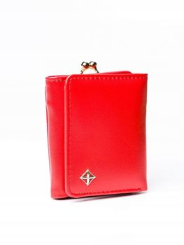 Women's Eco Leather Wallet Red 3003