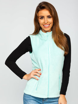 Women's Fleece Gilet Mint Bolf HH003
