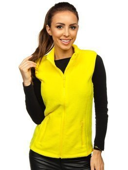 Women's Fleece Gilet Yellow Bolf HH003