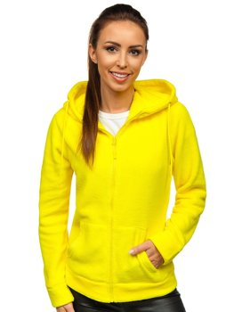 Women's Fleece Hoodie Yellow Bolf HH004