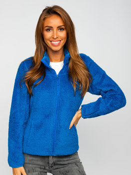Women's Fleece Jacket Blue Bolf HH006