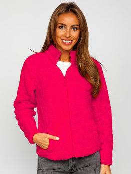 Women's Fleece Jacket Pink Bolf HH006