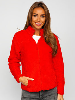 Women's Fleece Jacket Red Bolf HH006