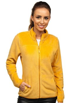 Women's Fleece Sweatshirt Camel Bolf HH001