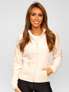 Women's Fleece Sweatshirt Light Pink Bolf HH001