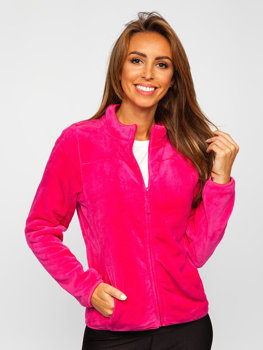 Women's Fleece Sweatshirt Pink Bolf HH001