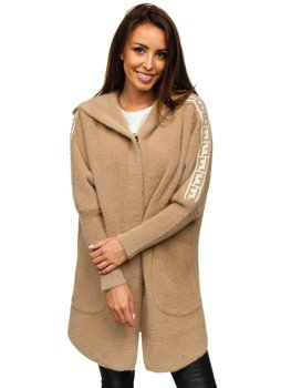 Women's Hooded Coat Camel Bolf 20658