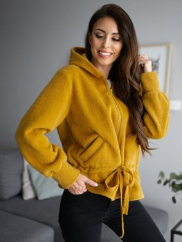 Women's Hooded Jacket Yellow Bolf 9320