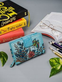 Women's Leather Wallet Multicolor 3073