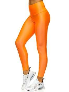 Women's Leggings Orange Bolf YW06010