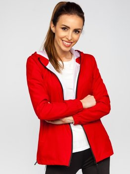 Women's Lightweight Sport Jacket Dark Red Bolf HH036