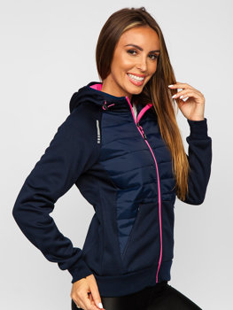 Women's Lightweight Sport Jacket Navy Blue Bolf KSW4009