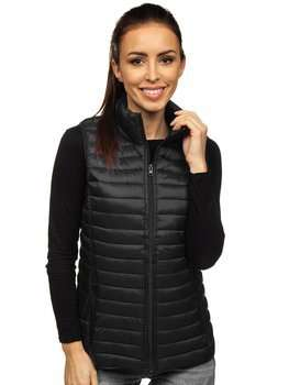 Women's Quilted Gilet Black Bolf 20314