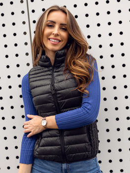 Women's Quilted Gilet Black Bolf B2705