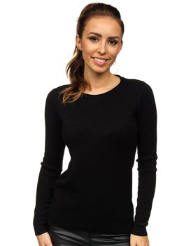 Women's Sweater Black Bolf NJ95787B