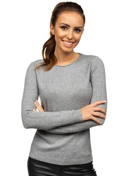 Women's Sweater Grey Bolf NJ95787B