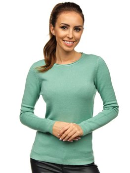 Women's Sweater Mint Bolf NJ95787B