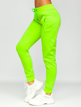 Women's Sweatpants Green-Neon Bolf CK-01