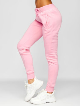 Women's Sweatpants Light Pink Bolf CK-01