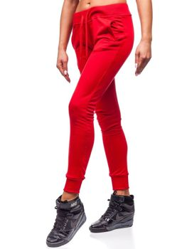 Women's Sweatpants Red Bolf WB11003-A