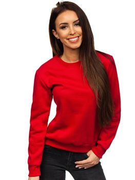Women's Sweatshirt Dark Red Bolf W01