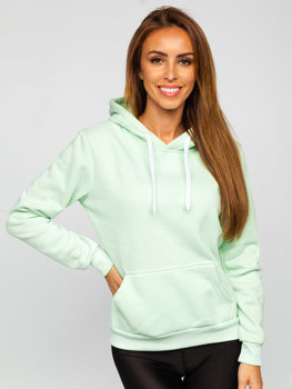Women's Sweatshirt Light Mint Bolf W02