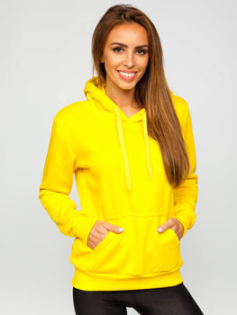 Women's Sweatshirt Light Yellow Bolf W02